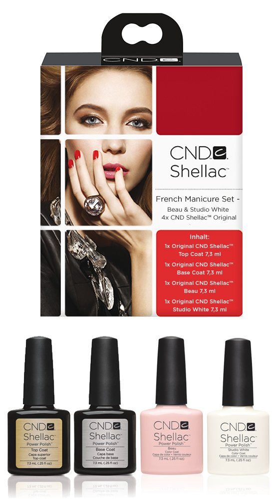 Cnd Shellac - Set French Manucure - 4 X Shellac product image
