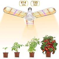 Lámpara de Cultivo de Plantas, E27 150W Lámpara