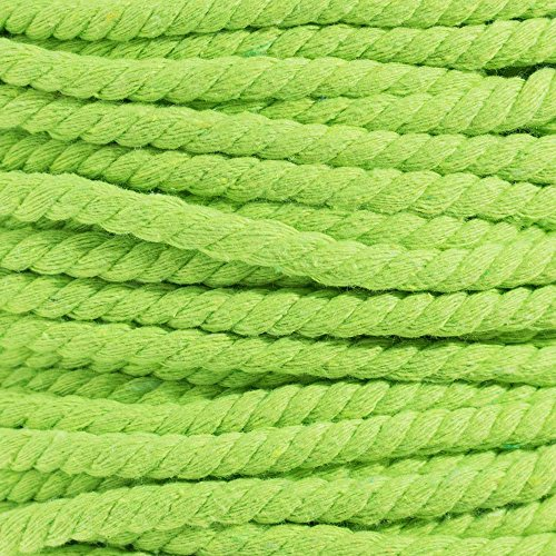 West Coast Paracord Super Soft Triple-Strand 1/4 Inch Twisted Cotton Rope by the foot in 10 Ft, 25 Ft, 50 Ft, 100 Ft Options - 100% Cotton Rope by West Coast Paracord (Image #3)
