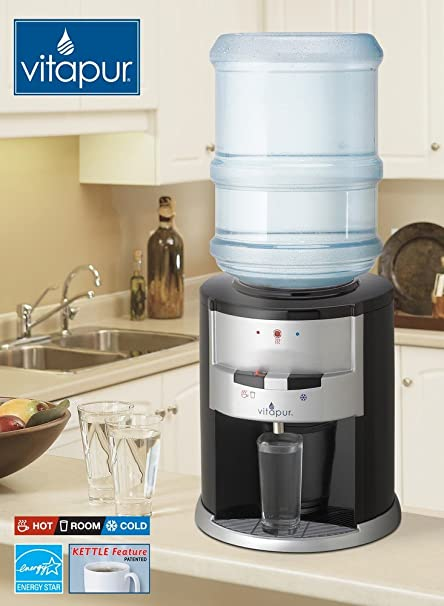 Amazon.com: Vitapur VWD2636BLK Countertop Water Cooler and Dispenser ...