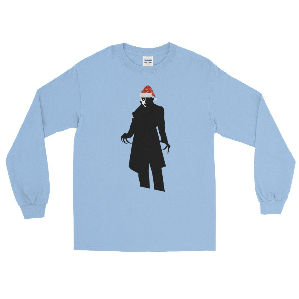 santa claus nosferatu Long Sleeve T-Shirt t shirt top