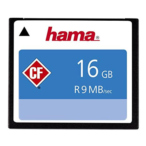 Hama - Tarjeta de Memoria CF 16 GB: Amazon.es: Informática