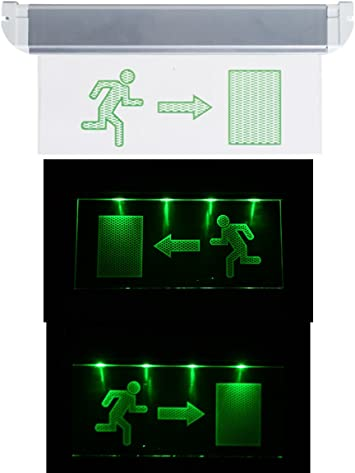 /Luz de emergencia ext Exit Not l/ámpara iluminaci/ón de emergencia Exit salida de emergencia ext/