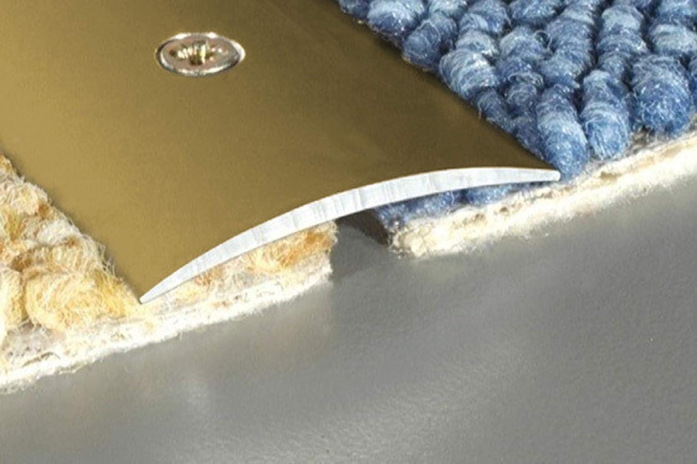 rostfrei A13 1 St/ück 930x40x5mm champagne Effector Alu /Übergangsprofile
