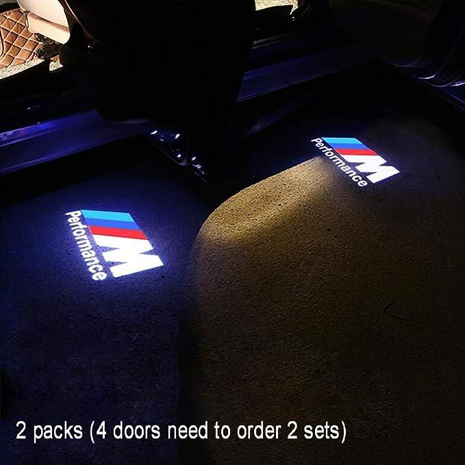 Cqlights Puerta de Coche Iluminación LED Logotipo Proyector ...