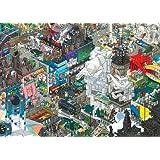 Heye 29413 - Dreieckspuzzles 1500 Teile Paris, eBoy