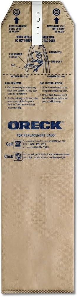 Oreck HEPA Vacuum Bags for Magnesium (6 Bags)