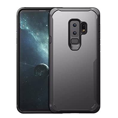 HD Transparent Rubber Case Hybrid Rugged Protective Case Cover For Samsung Galaxy S9/S9 Plus