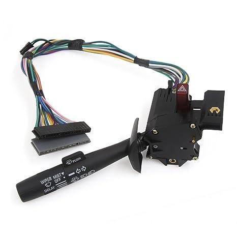 Sourcingmap – ® Parabrisas Limpiaparabrisas palanca Blinker Interruptor de los intermitentes 26083628
