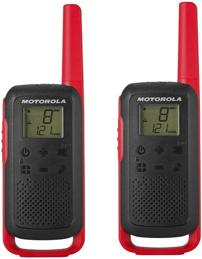 Motorola Talkabout T62 Pmr Funkgeräte Rot Elektronik