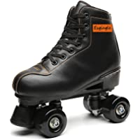 Indoor and Outdoor XUDREZ Roller Skates High-top Roller Skates Four Wheels Double Row Roller Skates Adult and Youth