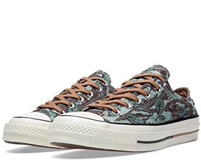 Converse Chuck Taylor All Star OX 1970 Floral Low Top Shoes 148554C IceBerg  Green 8 D