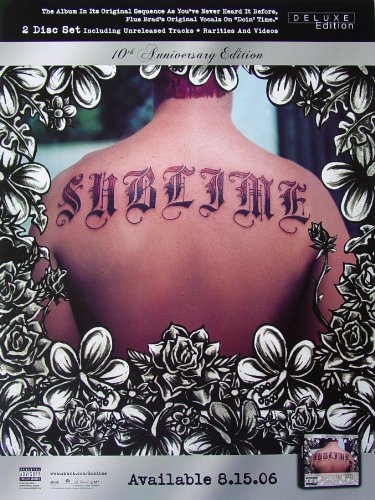 Sublime Poster Tattoo Back