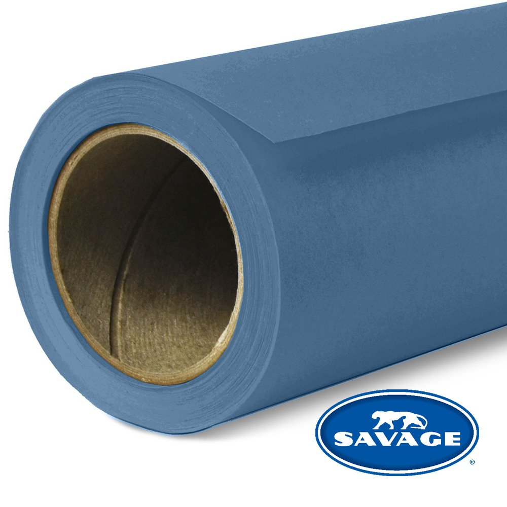 Savage Seamless Background Paper - #64 Blue Jean (107 in x 36 ft)