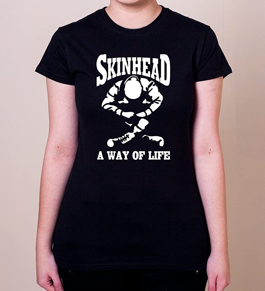 Skin Head a Way of Life camiseta para niña: Amazon.es: Ropa y accesorios