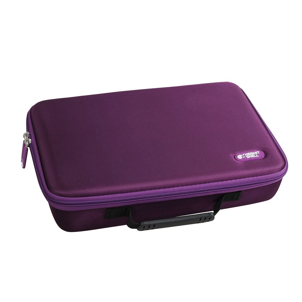 Hermitshell Extra Large Hard EVA Travel Case for C. A. H. Card Game, Fits the Main Game Space for 1950 Cards. - Card Game Sold Separately. Purple