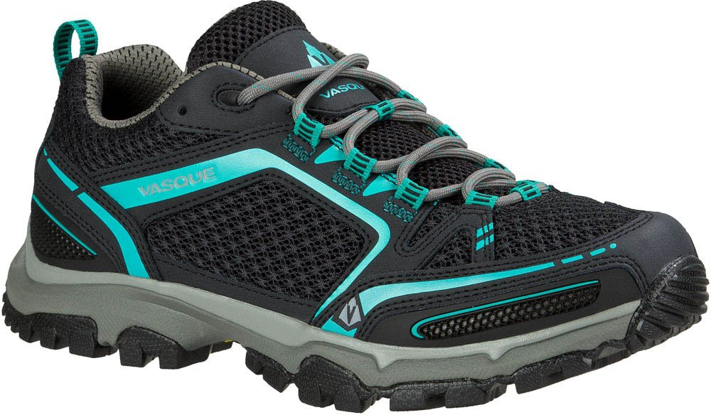 Vasque Women's Inhaler II Low Hiking Shoe, Anthracite/Columbia, 9 M US