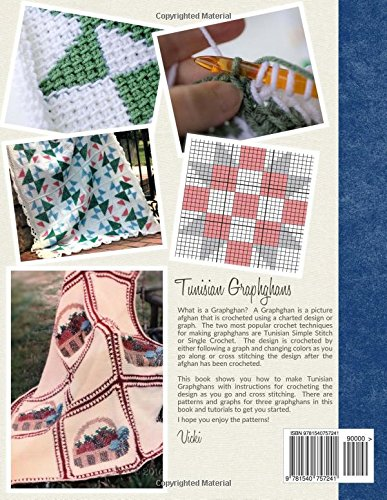 How To Crochet Tunisian Graphghans Graphghan Crochet Patterns