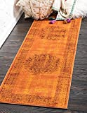Unique Loom Istanbul Collection Terracotta 2 x 6 Runner Area Rug (2' x 6')