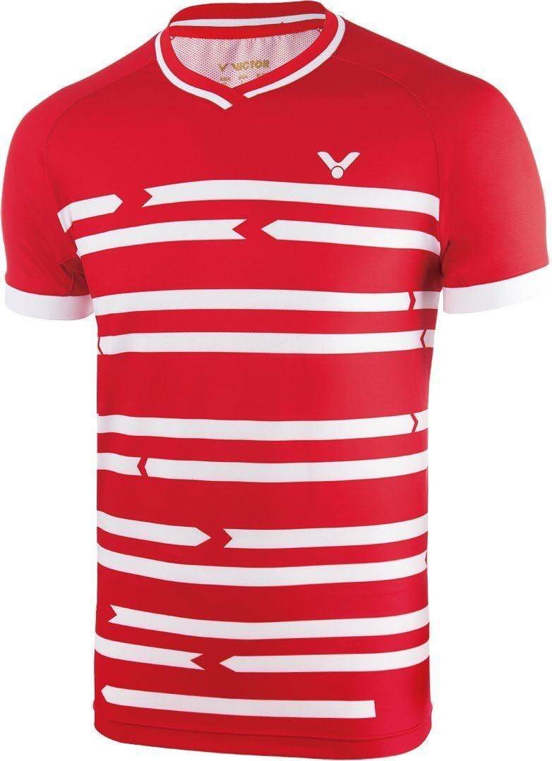 Victor T-Shirt Denmark Unisex Red 6628
