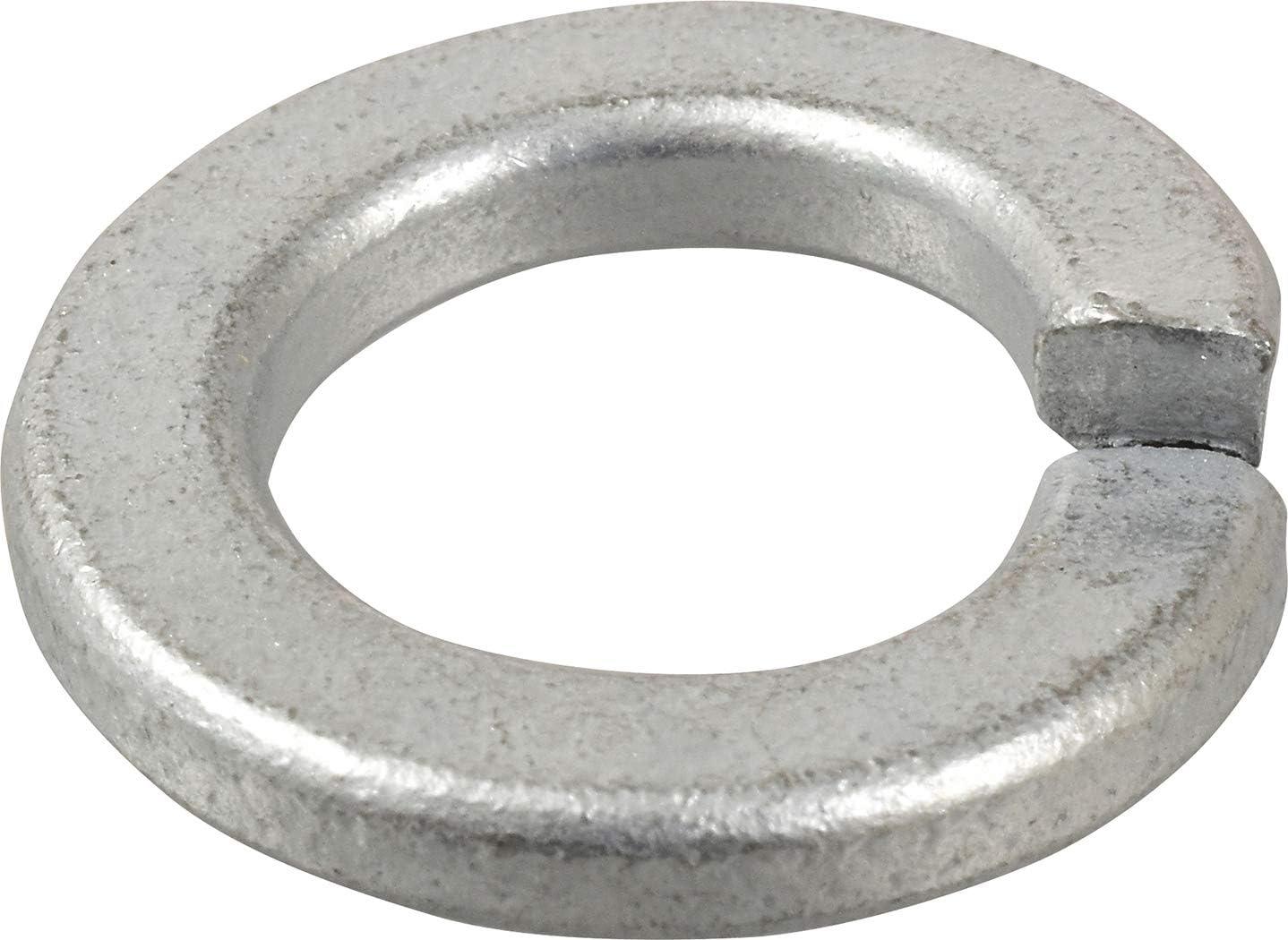 Zinc-Plated  Steel  Split Lock Washer  50 pk Dia Hillman  1//2 in