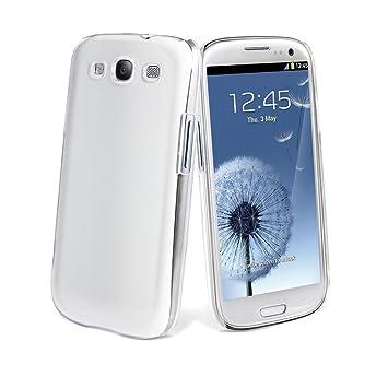 Muvit MUCRY0005 - Carcasa + Protector De Pantalla Para Samsung S3 Neo