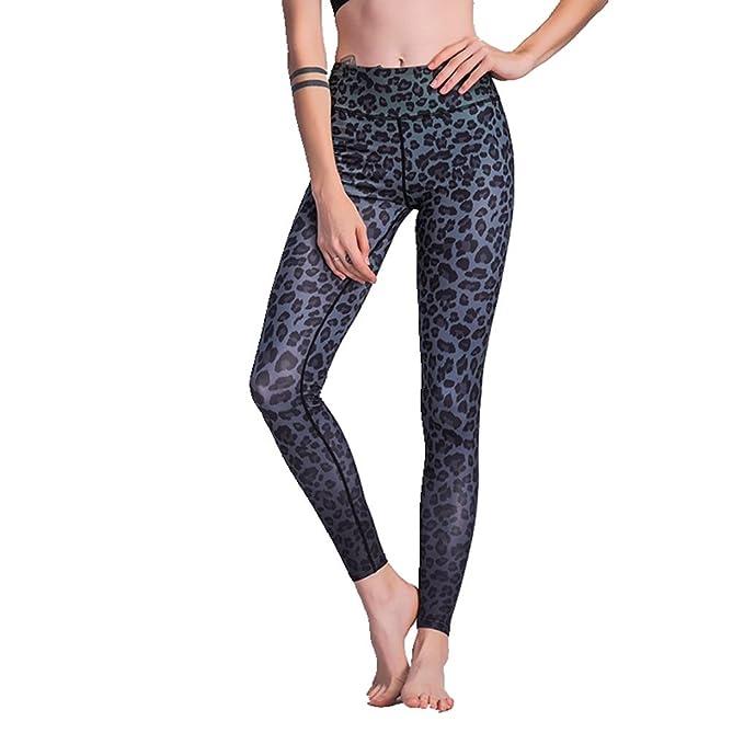 Amazon.com: TOURME - Leggings de leopardo para mujer, para ...