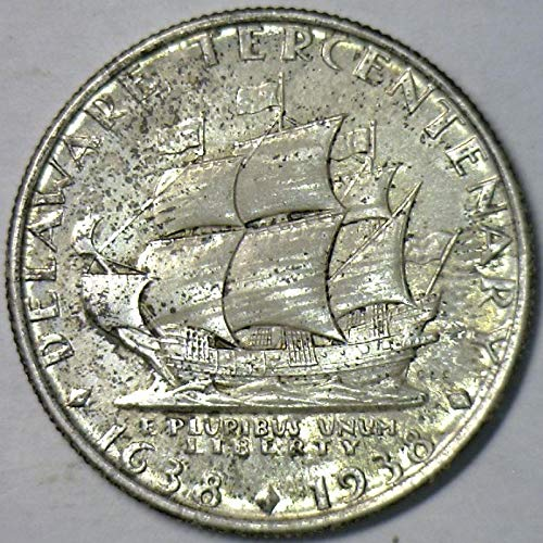 1936 P Delaware Commemorative Half Dollar Gem Unc. ()