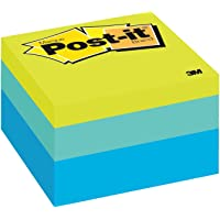Post-it Notes Cube Blue Wave 76mm x 76mm 470 Sheets 2056-RC