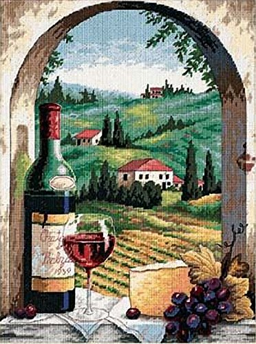 Dimensions Needlepoint Kit, Tuscan View, 12