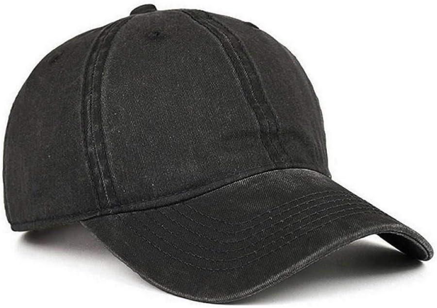 YEmaozi Verano sólido algodón Gorra de béisbol Hombres Mujeres ...