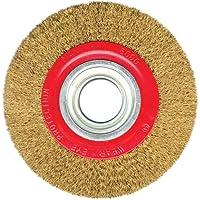 Silverline 427733 - Rueda de acero latonado (125