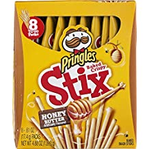Pringles Stix Honey Butter 8 Count (Pack of 4)