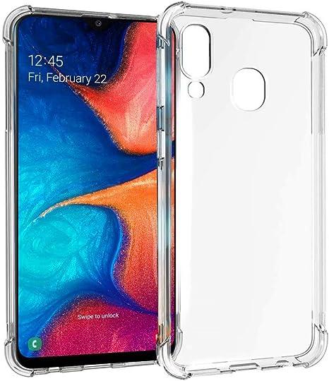 JJWYD Funda para Samsung Galaxy A20/A30, Ultra Fina Silicona ...