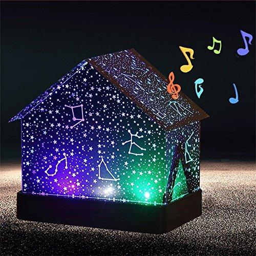 Multifunction Led Usb Colorful Star Projector Nightlight Diy