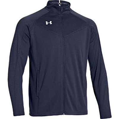 UNDER ARMOUR Men's FITCH WARM UP JACKET (Navy) - Large