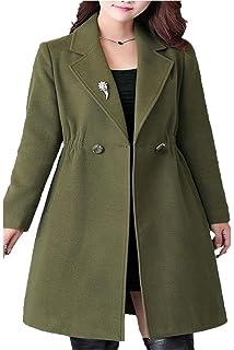 Longues Femme Manteau Hiver Warm Duffle Manches Coat Épaisseur doWCxrBe