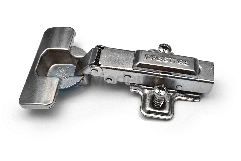 10 x Bisagra GTV de superposici/ón total con amortiguador /Ø 35mm Euro