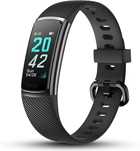 Letscom High End Fitness Trackers Hr Ip68 Waterproof Fitness Watch With Heart Rate Monitor Step Counter Sleep Monitor Health Activity Tracker As Pedometer Watch For Women Men Amazon Co Uk Sports Outdoors
