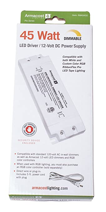 Armacost Lighting Universal 45 Watt Dimming Driver 12 Volt DC
