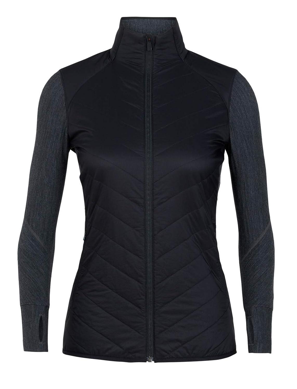 Icebreaker Damen Descender Hybrid Jacket Fleecejacke