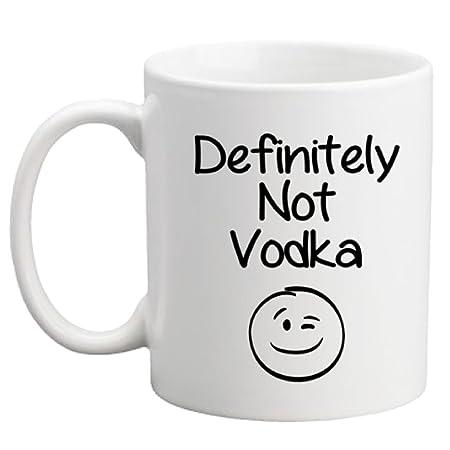 Definitely Not Vodka Funny Coffee Mug