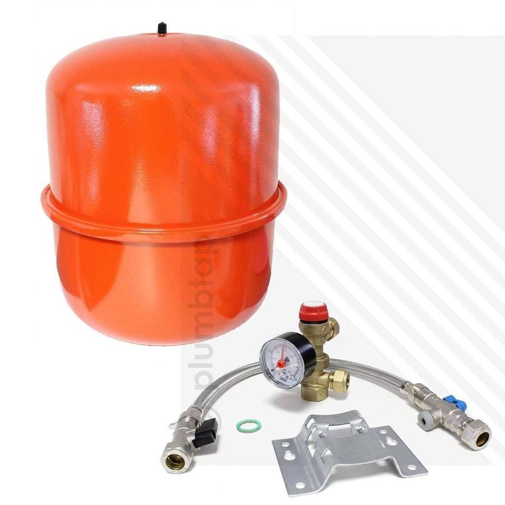 Zilmet B00I8P061M Kit de système scellé et vase d'expansion de chauffage 18litres