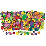 fruit shapes - Fruit Shapes Self Stick Foam Shapes 500/pk.