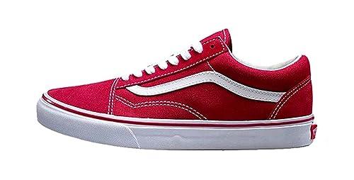 Image Unavailable. Image not available for. Colour  HOT      Original Vans  Old Skool Red Colour Low-Top Men   Women s Skateboarding Shoes Sport 897d4b000