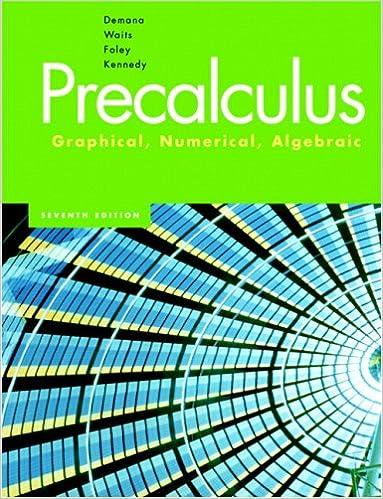 Precalculus: Graphical, Numerical & Algebraic Value Pack (includes ...