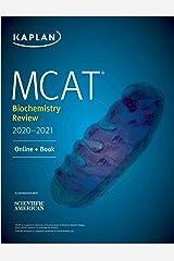 MCAT Biochemistry Review 2020-2021: Online + Book (Kaplan Test Prep) Kindle Edition