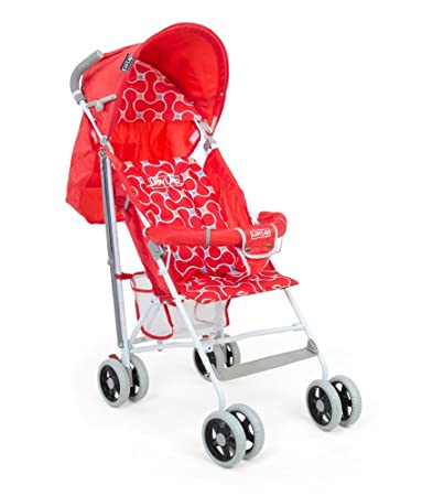 LuvLap Comfy Baby Buggy (Red) Strollers at amazon
