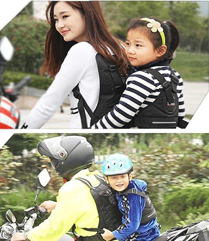 Harnais de s/ûret/é de moto de haute r/ésistance pour enfants pouvant /être ajust/é vers le haut et vers le bas