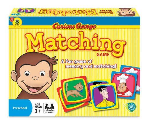 Wonder Forge Curious George Matching Game for Boys & Girls Age 3 and Up - A Fun & Fast Memory Game You Can Play...